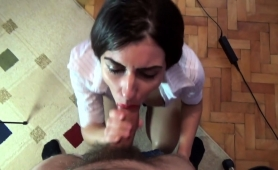 Stunning Milf Gets Fucked Doggystyle And Facialized In Pov