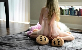 dazzling-blonde-teen-with-lovely-boobs-rides-a-teddy-bear