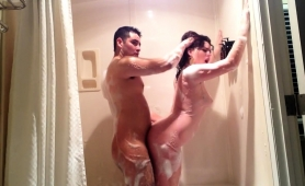 sultry-brunette-milf-gets-pounded-doggystyle-in-the-shower