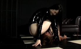 sultry-asian-dominatrix-in-lingerie-punishes-a-horny-slave