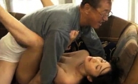 Slender Japanese Wife Braces Herself For A Hardcore Drilling