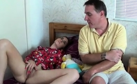 Sensuous Teen With Big Boobs Gets Fucked By Her Stepfather