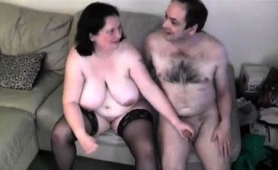 Big Breasted Mature Brunette In Stockings Rides A Hard Shaft