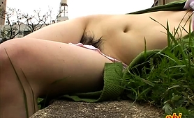 Sensual Asian Babes Expose Their Sexy Bodies In The Outdoors