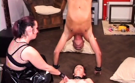 submissive-dude-and-his-gf-tortured-by-an-older-mistress